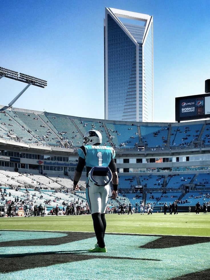 from Carolina Panthers: Cam before the storm.