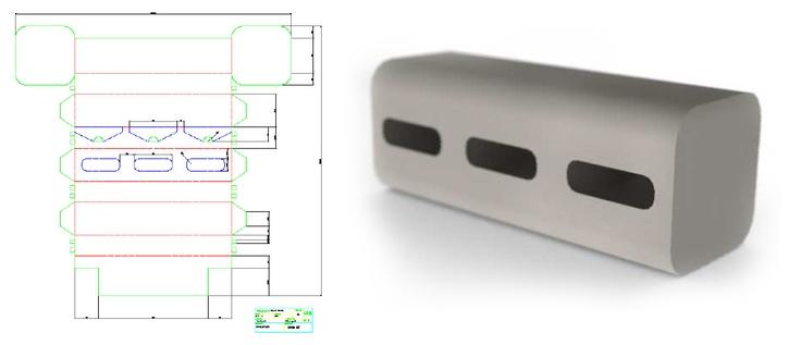 CONCURS PROCARTÓN  Concurs ProCartón d'envasos i embalatges.  Dispensador de paper higiènic d'un sol ús de cartronet.    Desenvolupat fins a prototip.