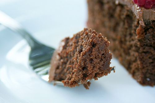 chocolate_sourdough_cake3 by Diana Bauman, via Flickr - YUM moist. Used butter in place of coconut oil.
