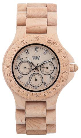 Wooden Watch Cygnus Beige - GoodiesHub.com