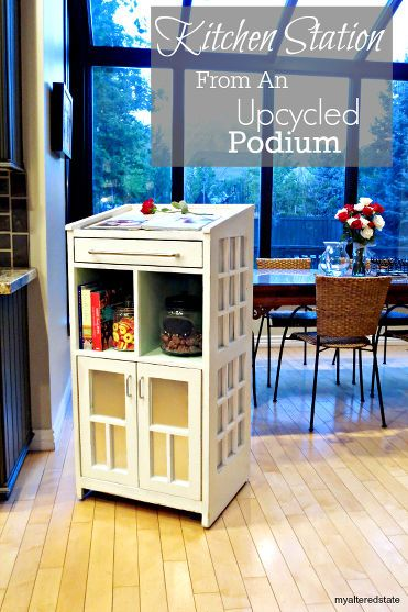 Kitchen Station | Renew, Reuse, Repurpose | Pinterest | Kitchen, Home and Furniture