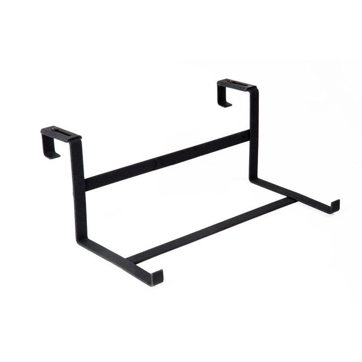Deck railing bracket for 9 wide planter boxes fits all