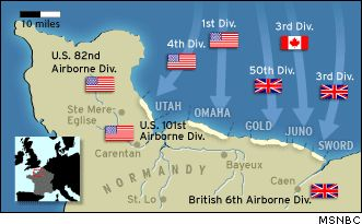 """On June 6th, 1944 the largest ever invasion fleet was massed off the coast of France. Code-named """"Operation Overlord"""" the D-Day landings on the beaches of Normandy (code-named Utah, Omaha, Gold, Juno and Sword beaches) marked the return of Allied troops to Western France, including U.S., British, Canadian and Free French forces and another major step in the defeat of Nazi Germany (they officiallysurrendered in May 1945).Around 160,000 troops were landed that day from 7,000 ships/landing…"""