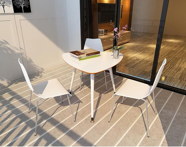 Negotiation table. Reception desk and chair combination. White painting table