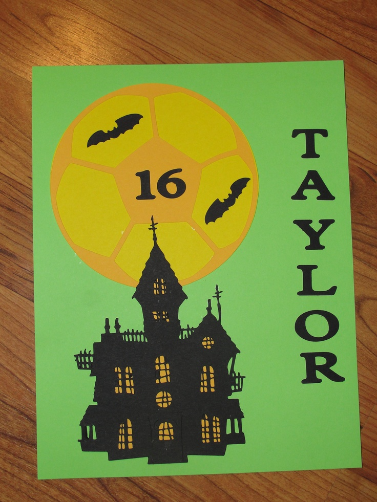 Soccer Hotel Door Sign - Halloween Havoc