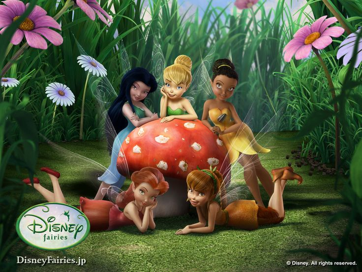 As old as I am, I still love the Disney Fairies, when I was little Tink was the only one!