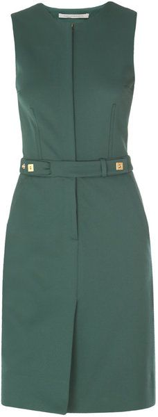 Diane Von Furstenberg Green Dinna Dress