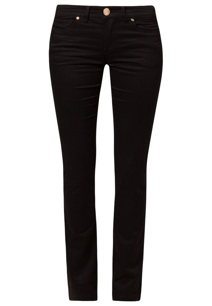 Pantalón Negro. Gabardina elasticada Tipo jeans