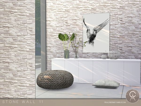 Pralinesims Stone Wall 11 Stone Wall Sims 4 Cc Furniture Sims 4
