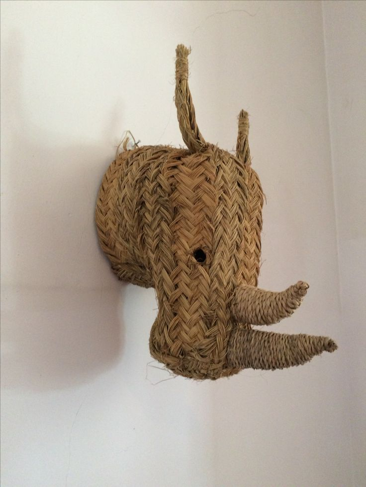 Tete de rhinoceros tressé  from Mallorque