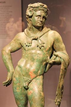Bronze statuette of Hercules (1st C. BC), National Archaeological Museum of Athens