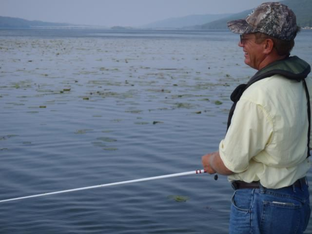Review of Duckett Rods: Jake Davis fishing with a Duckett Rod