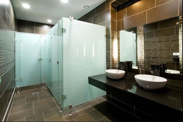 Bathroom Designs With Glass Partition