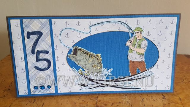 Kirsi: Fiskare i farten - Fisherman on the go.Fick en ko...