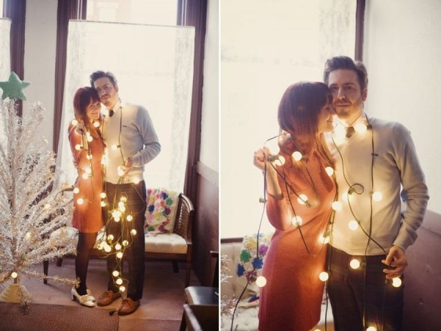 Verlovingsfoto's in Kerstsfeer! | ThePerfectWedding.nl