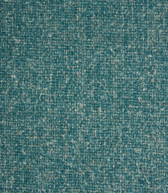 Croft Wool Fabric / Teal