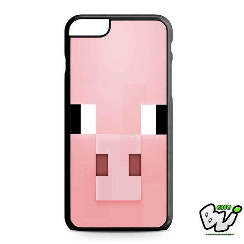 Minecraft Pig Pink Head iPhone 6 Plus | iPhone 6S Plus Case