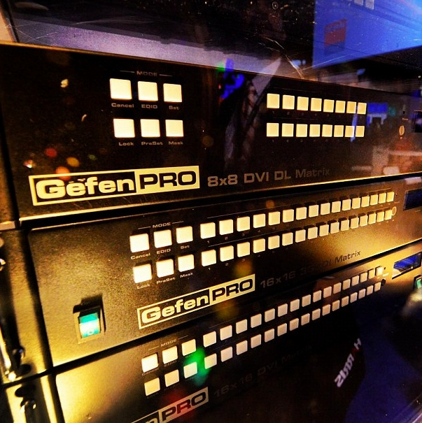 Our GefenPro product line offers rack mounted solutions designed for professional installation for DVI, HDMI and DisplayPort extension, Crosspoint Matrix Systems, Switchers with 24/7 support. http://www.gefen.com/gefenpro/
