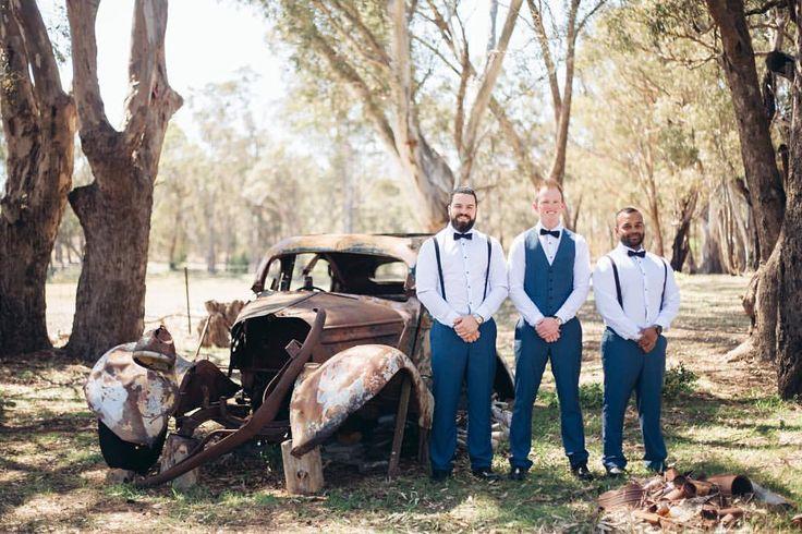 "T S T . S O Y . C A N D L E on Instagram: ""#jakeismarryingshell #glenerin #glenerinatlancefield @glenerinatlancefield #rusticwedding #wedding #spring #whiteandnavy #groomsman #bestman"""