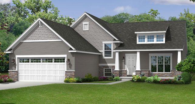 91 best images about sidesplit homes on pinterest split for Craftsman style split level homes