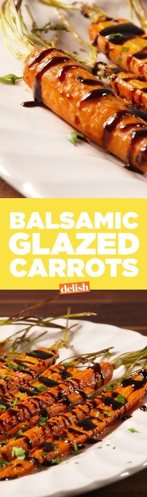 Balsamic Glazed Carrots