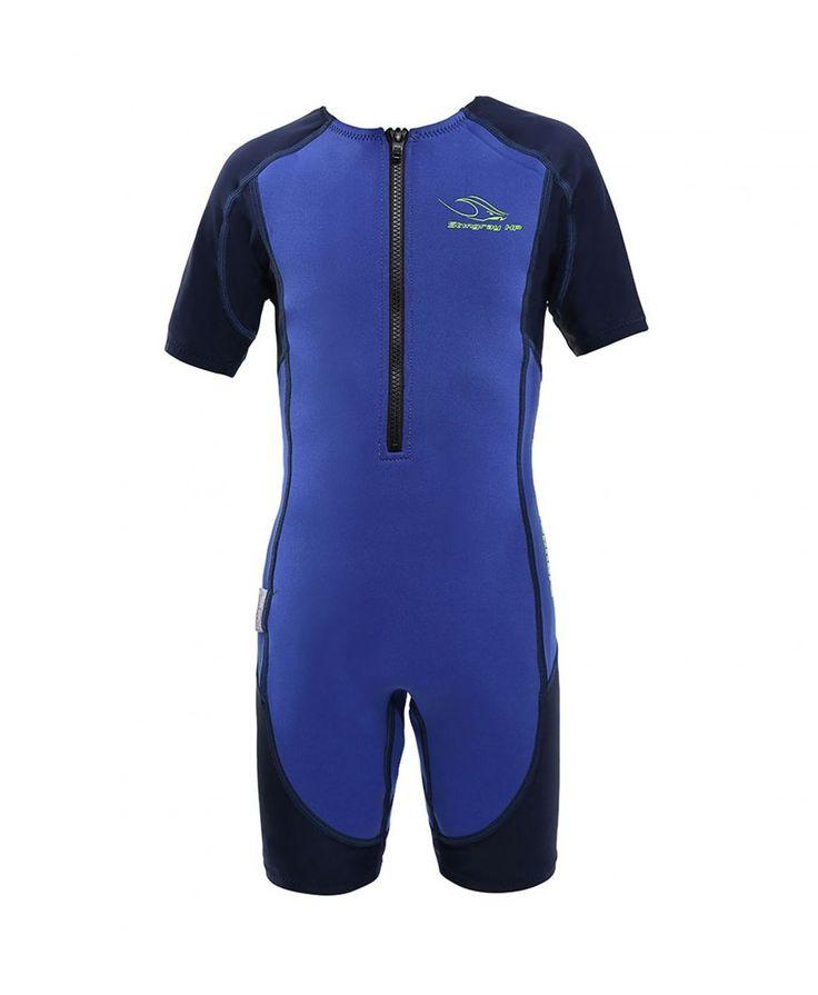 Aqua Sphere Blue Kid's Stingray Core Warmer wetsuit - $39.99   All Tides