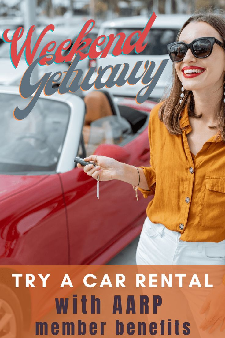 Unlock car rental AARP deals and discounts with member