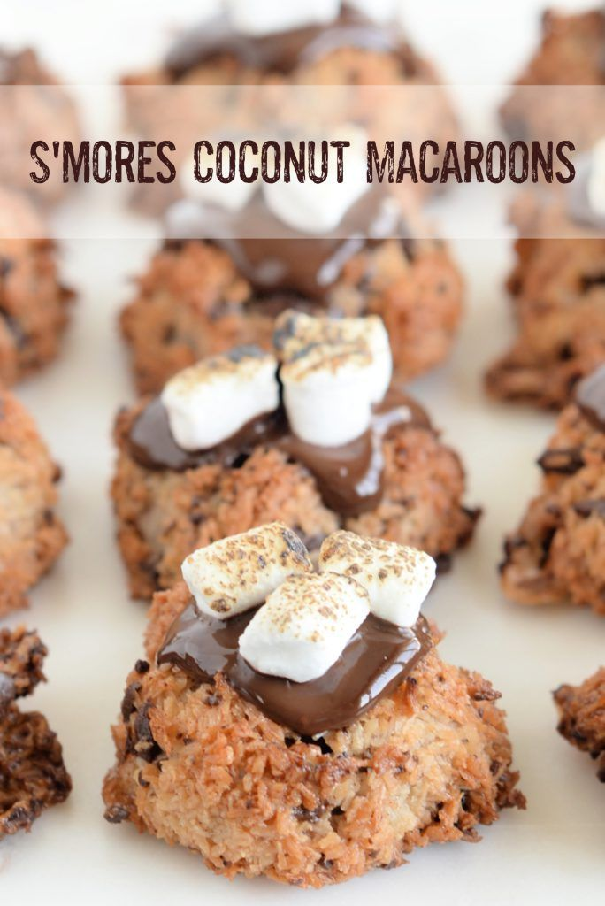Kitchen Tested S Mores Coconut Macaroons Coconut Macaroons