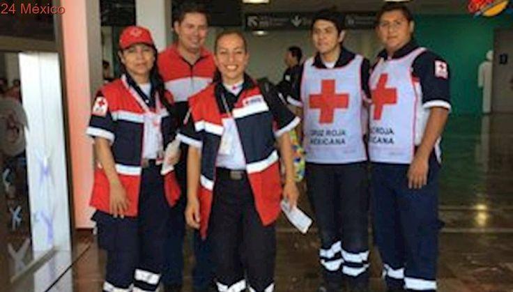 Cruz Roja Mexicana envía a 33 voluntarios a EU por 'Harvey'