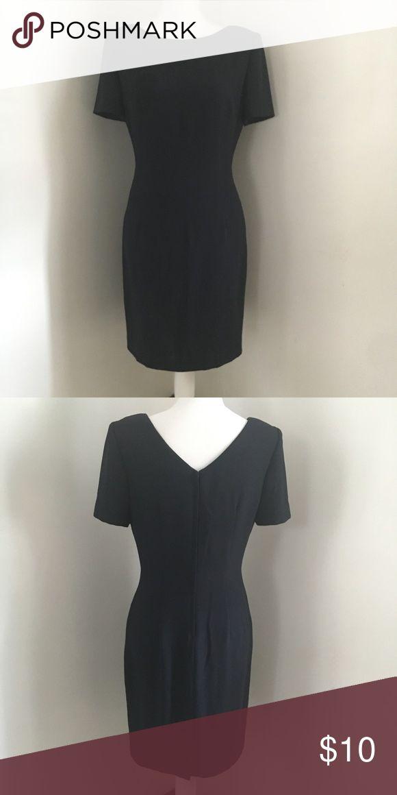 Vintage navy Depeche dress Vintage navy dress. Outside looks good, inside a  little miscolored