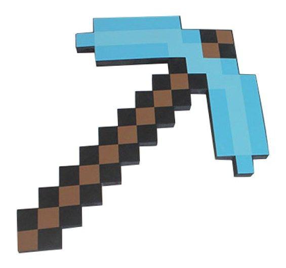 Pica de Minecraft. La herramienta que buscabas - portal #Ñoño .-.--.--.-.-.--.-.-.-.-...-..-.-.--.---...--  ..---.-.--.-.....-..-.---.-.--.-.-.-.  Pica de Minecraft: fabricada con goma eva de alta densidad; mide 45 x 33 cms; empaque: bolsa. La herramienta preferida por los mineros del mundo de Minecraft.