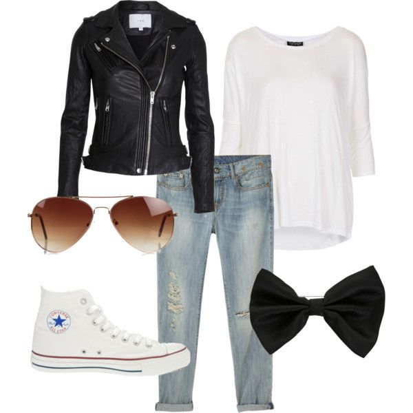 Dressing Like The Outsiders by poppy-baily on Polyvore featuring polyvore, fashion, style, Topshop, R13, Converse, Rut