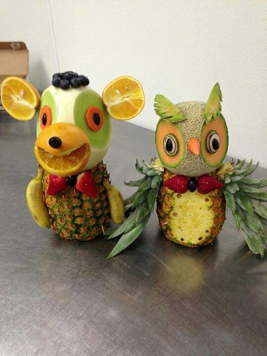 Best images about fruit vegetables art garnishing