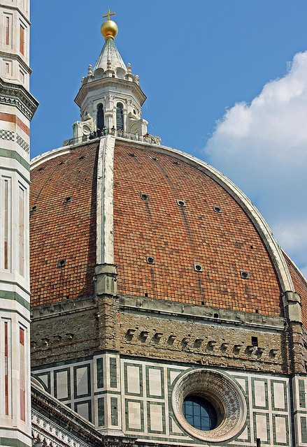The Brunelleschi's dome of the Florence cathedral