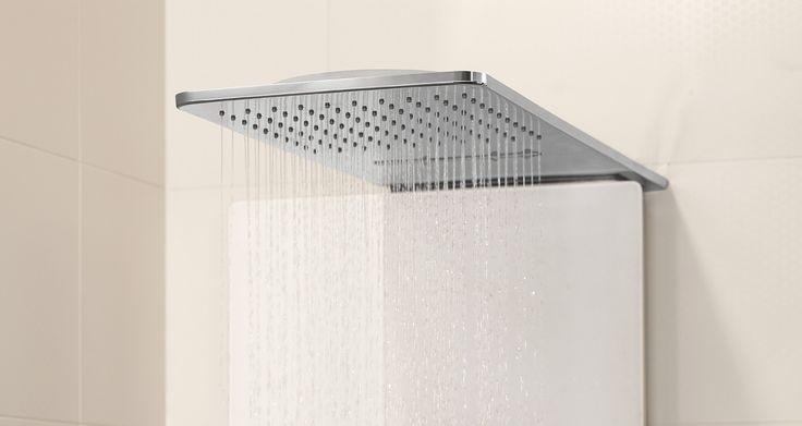 Panel de ducha decorativo Vivia #duchas #ducha #bañeras #baños #baño #plato #platoducha #bañera #inspiración #diseño #lujo #Premium #estilo #bath #innovación #Vivia