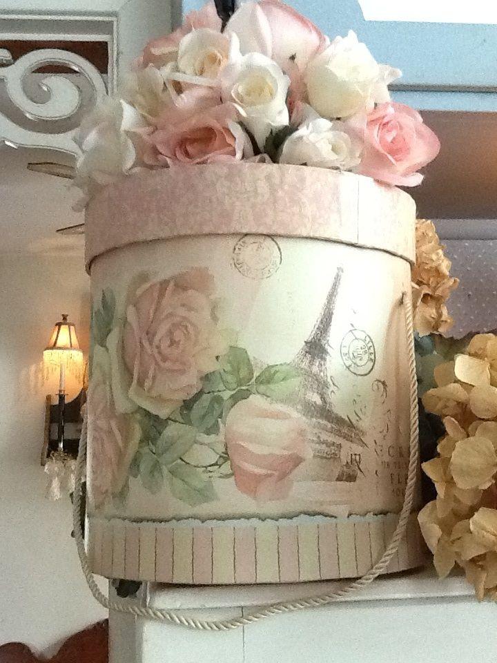 Pretty hat box...