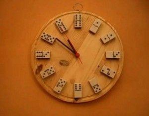 10 ideas para fabricar un reloj de pared
