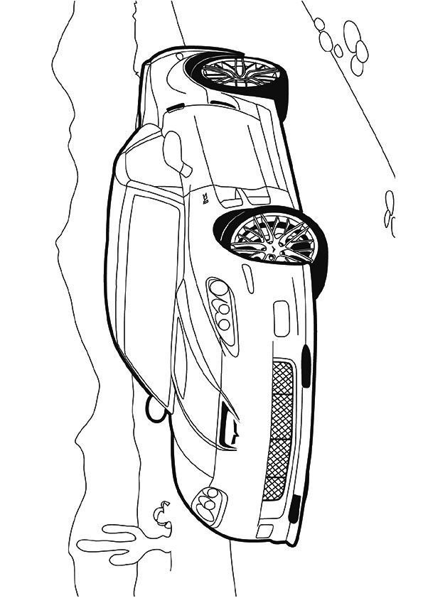 51 best Cars Coloring Pages images on Pinterest | Muscle cars, Cars ...
