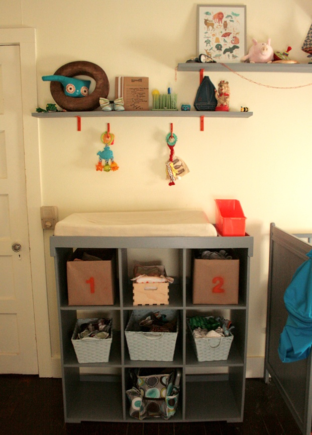 Best 25 Changing Table Storage Ideas On Pinterest