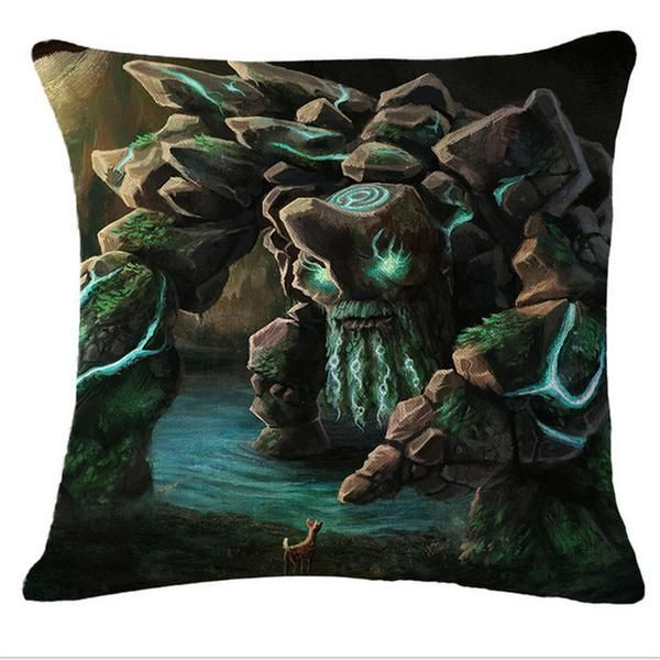 Dota 2 Tiny Pillow Case