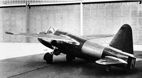 Abfangjäger Heinkel He-178