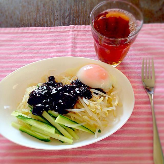 料理修行第一弾! - 9件のもぐもぐ - ジャージャー麺 by ponkaponk