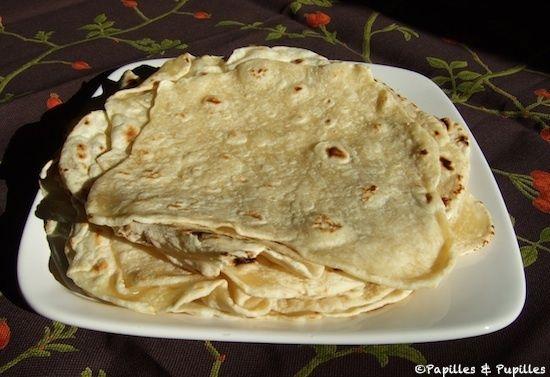 Tortillas mexicaines - Galettes de blé ou de maïs | papilles & Pupilles