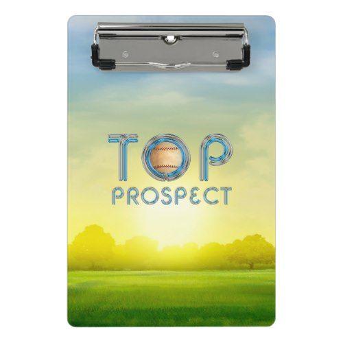 TOP Baseball Prospect Mini Clipboard
