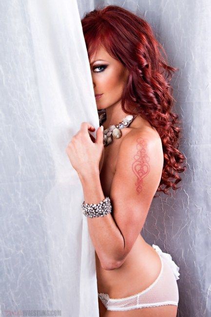 Christy Hemme plotting from behind the curtain 03
