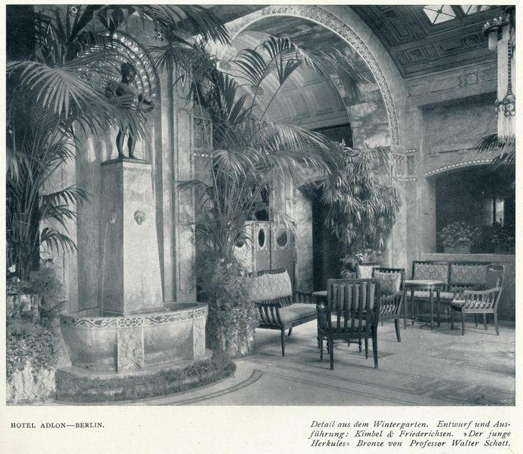 https://flic.kr/p/yf4xkp   Innendecoration 1908 Berlin Hotel Adlon  g