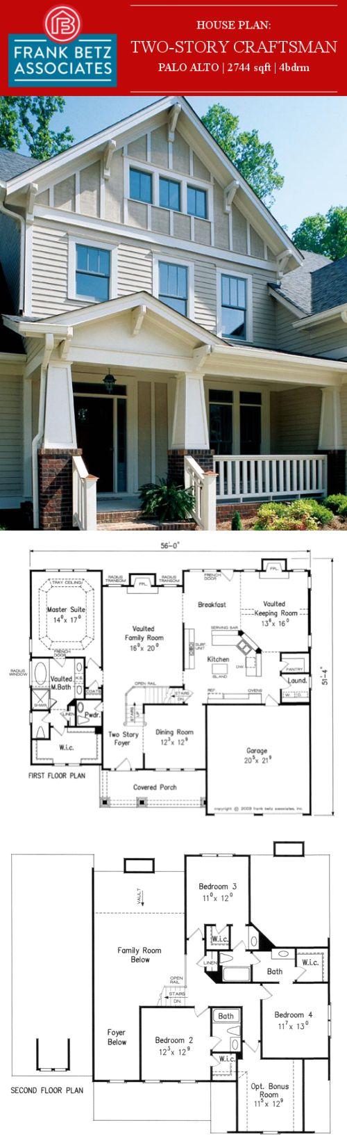craftsman two story frank betz plan the palo alto has house plan 16862wg cozy 3 bedroom cottage w bonus room