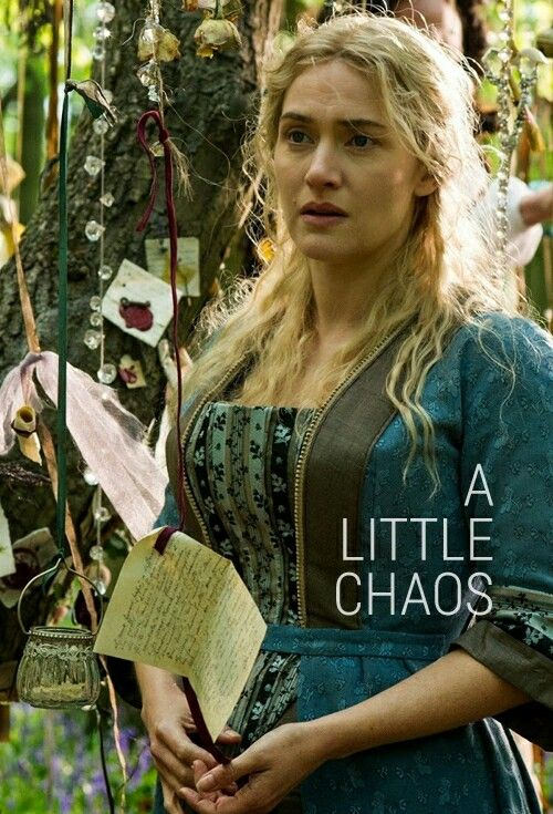 A Little Chaos - Kate Winslet 6/26/15 lovely,lovely film directed by Alan Rickman     K.S