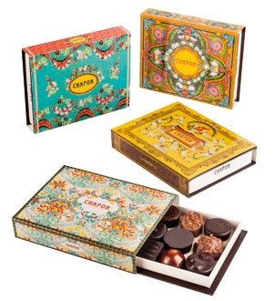 Chapon (French chocolatier) - box of artisanal chocolates