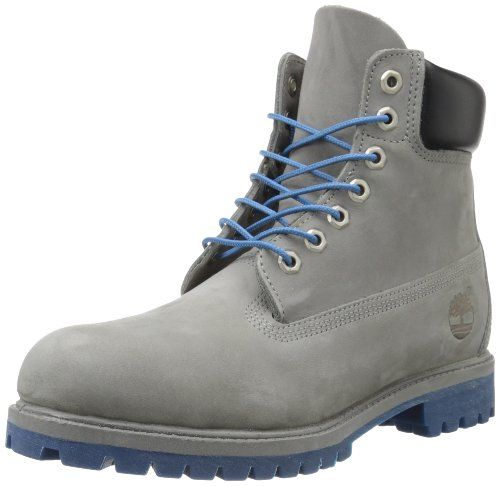 timberland boots grey blue